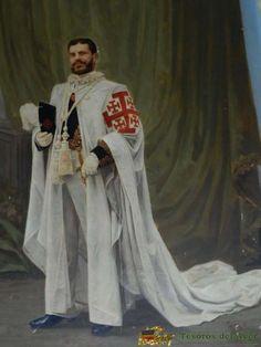 Mantos y Veneras Blog: Orden del Santo Sepulcro: Caballero con hábito y uniforme