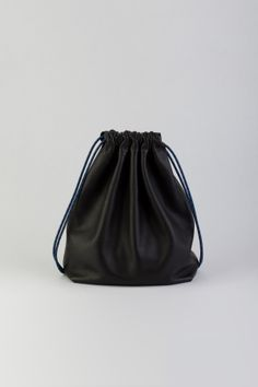Leather Drawstring Backpack - The Stowe