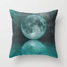 MOON FANTASY Throw Pillow by catspaws - $20.00