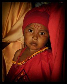 un niño Wayuu, del norte de #Colombia.