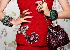 POMELLATOS  BROOCHES | Eclectic Jewelry and Fashion: Fancy Colored Gems