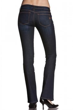 Miss Me: Audrina Boot-Cut Denim Jeans, Dark Blue from Elise | Men and Women's Online Boutique | Clothing and Accessories