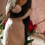 russisches Brautpaar
