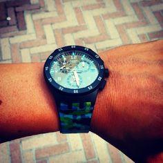 #Swatch URBAN JUNGLE swat.ch/1kAKYXY