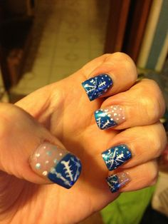 Winter nails @Zoya in Tallulah