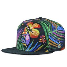 f170bab2402 Toucan Tropics Full Color Snapback