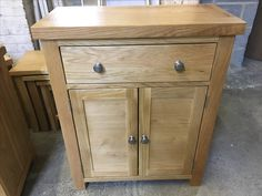 A small oak Sideboard from our ready made collection. www.cobwebsfurniture.co.uk
