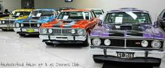 My dream garage Australian Muscle Cars, Aussie Muscle Cars, Ford Girl, Truck Engine, Ford Falcon, Hot Rides, Car Ford, Dream Garage, New Model
