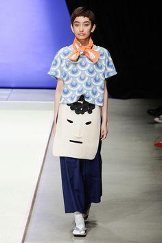 Kazuaki Takashima presented his Spring/Summer 2015 collection for Né-net, during Mercedes-Benz Fashion Week Tokyo.