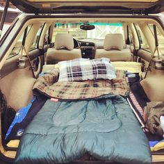 One day I just want to get a truck/jeep and sleep in the back of it...lm going to car camp. :)
