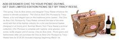 a fashionistas dream picnic basket