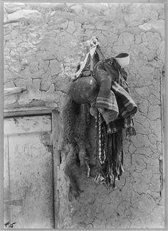 Walpi pueblo Arizona 1918, Shaman's tools