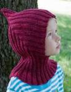 Детская шапочка спицами Pixiehat иРKnitted Hats Kids, Knitting For Kids, Kids Hats, Crochet For Kids, Baby Knitting, Crochet Socks, Knit Crochet, Crochet Curtains, Crochet Fashion