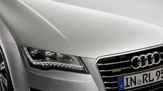The A7 Sportback is the first in its class to unite the elegance of a Limousine, the functionality of an Avant and the dynamics of a Coupé. Source: Audi AG