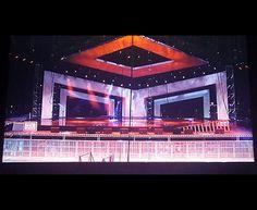 Concert Stage Design Ideas neon jailbreak Concert Stage Design