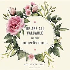 Daily Quote: We Are Valuable in Our Imperfections Sunday Quotes, Daily Quotes, Life Quotes, Quotes Quotes, Qoutes, Dream Quotes, Quotes To Live By, Cool Words, Wise Words