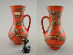 Vintage Vase von Carstens Tönnieshof / 6014 20 | West German Pottery | 60er von ShabbRockRepublic auf Etsy