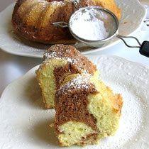 Hungarian Marble Cake Recipe - Márvány Sütemény