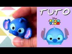 TUTO FIMO | Tsum Tsum Stitch (de Lilo et Stitch) - YouTube