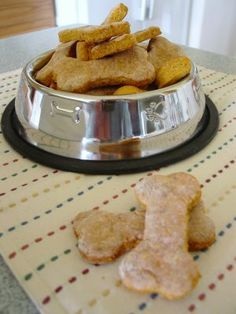 Carrot & Cheese Dog Treats from Tasty Treats for Demanding Dogs