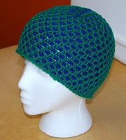 Honeycomb Hat Tunisian Stitch in the Round Pattern by The Laughing Willow