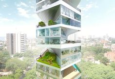 Writhing Tower, Lima, 2012 - LYCS Architecture