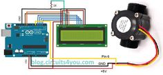 Flow measurement circuit