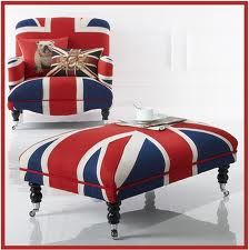 This Union Jack chair would make a great accent piece!