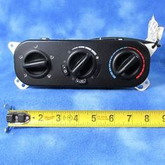 awesome 06-10 Chrysler PT Cruiser AC Heat Climate Control P55111879AA OEM Used 598-11 - For Sale View more at http://shipperscentral.com/wp/product/06-10-chrysler-pt-cruiser-ac-heat-climate-control-p55111879aa-oem-used-598-11-for-sale/