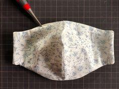 立体マスクの作り方 Diy Mask, Diy Face Mask, Sewing Clothes, Weaving, Projects, Ideas, Cool Things, Sewing Patterns, Manualidades