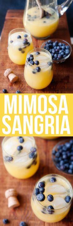 Mimosa Sangria