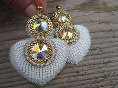 Ridgways / White/Gold heart...vyšívané