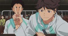 oikawa's all like hi everyone loves me and izwaizumis just like dude stfu