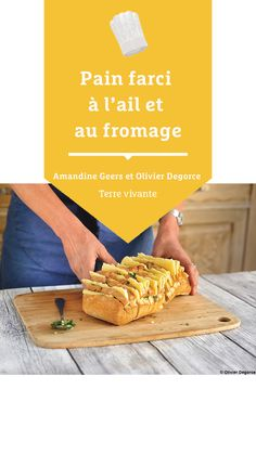 #terrevivante #recettefacile #recetterapide #painail #ail #painfromage Fondant, Bread, Kitchen, Food, Stuffed Bread, Garlic, Cheese, Eat Healthy, Quick Recipes