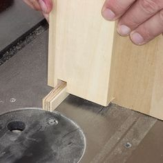 How to Make Flawless Box Joints: Adjust the Board on the Jig