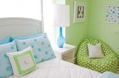 turquoise and green decor - Google Search