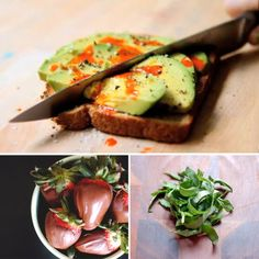 avocado toast ~ just made this for Valentine's appetizer and it was a hit !