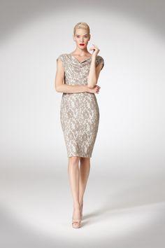 Neutral Lace Dress - love!