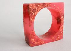 Resin + copper bangle@tosha