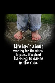 dancing in the rain!!