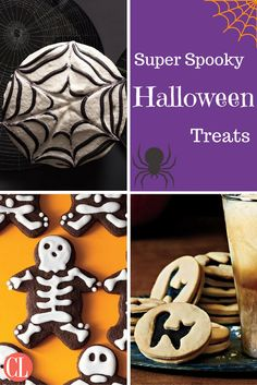 Cook up these lighter snacks, apps, and drinks so both kids and adults can really enjoy this spooky holiday. | Cooking Light