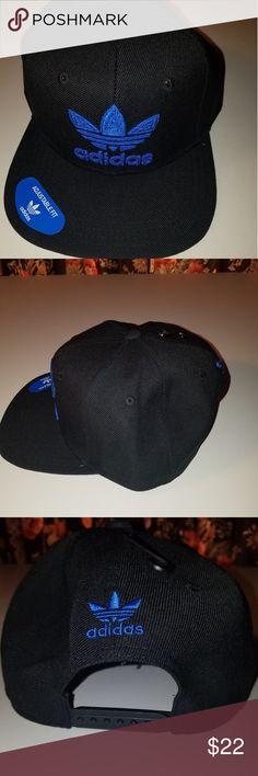 6b9edf711fd Adidas mens snapback cap black blue Adidas adidas Accessories Hats