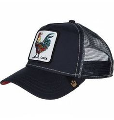 Gorra Goorin Bros Gallo Cock Navy Animal Farm Trucker Hat f0e915d6d66