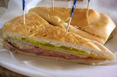 Cuban Sandwich. My favorite! Can you tell I was raised in Tampa?