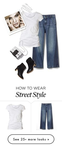"""""""street style"""" by janemichaud-ipod on Polyvore featuring Gap, AllSaints and Tiffany & Co."""