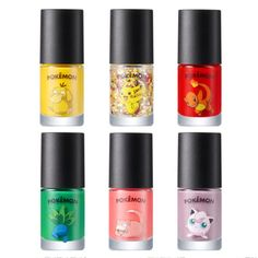 [kosmeshop]TONYMOLY Glitter Nail Polish (Pokemon Edition) 8ml