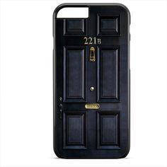 Sherlock Holmes Door 221B Apple Phonecase For Iphone 4/4S Iphone 5/5S Iphone 5C Iphone 6 Iphone 6S Iphone 6 Plus Iphone 6S Plus