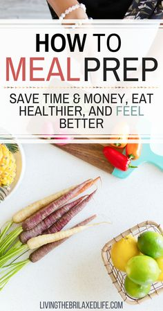 Are you too exhausted some nights to cook anything so you end up getting fast food? Are you tired of wasting money eating out? If so, meal prepping will get you back on track. Read more to find out how to meal prep and all it's great benefits. #mealprep #healthyeating via @livingthebrilaxedlife
