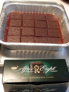 Brownie mix - these -  cover with more brownie mix