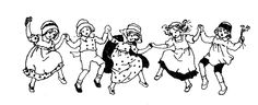 **FREE ViNTaGE DiGiTaL STaMPS**: Free Vintage Digital Stamp - Dancing Children